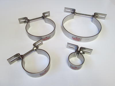 Pipe Bracket - 304 Stainless ... : pipe bracket clamp - www.happyfamilyinstitute.com